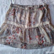 Vintage: FALDA NAF NAF CRUDO FLORES TALLA 40 L. Lote 248560230