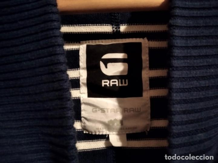 Vintage: Jersey Suéter G Star Raw talla L azul - Foto 3 - 248569520