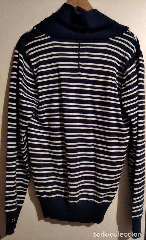 Vintage: Jersey Suéter G Star Raw talla L azul - Foto 6 - 248569520