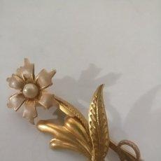 Vintage: EXCELENTE BROCHE PASADOR DE PELO VINTAGE. Lote 249127730