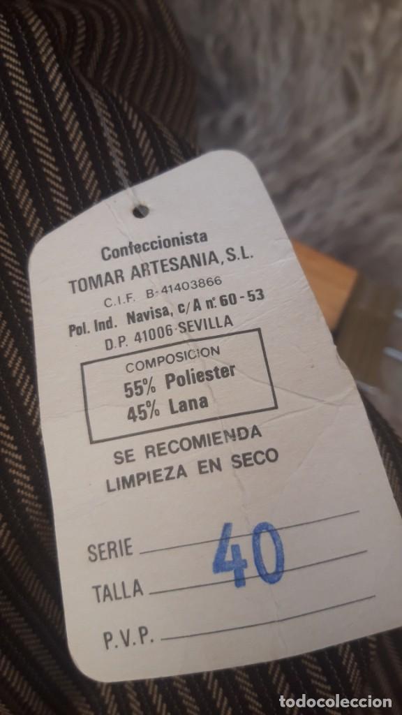 Vintage: Falda de traje folk andalud, Tomar, Sevilla, hacia 1970. - Foto 6 - 252627260