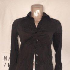 Vintage: CAMISA MANGA LARGA NEGRA LOVE TALLA M. Lote 253941910