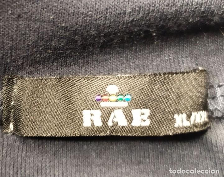 Vintage: Camiseta manga larga cuello vuelto negro RAB Talla XL - Foto 2 - 254108735
