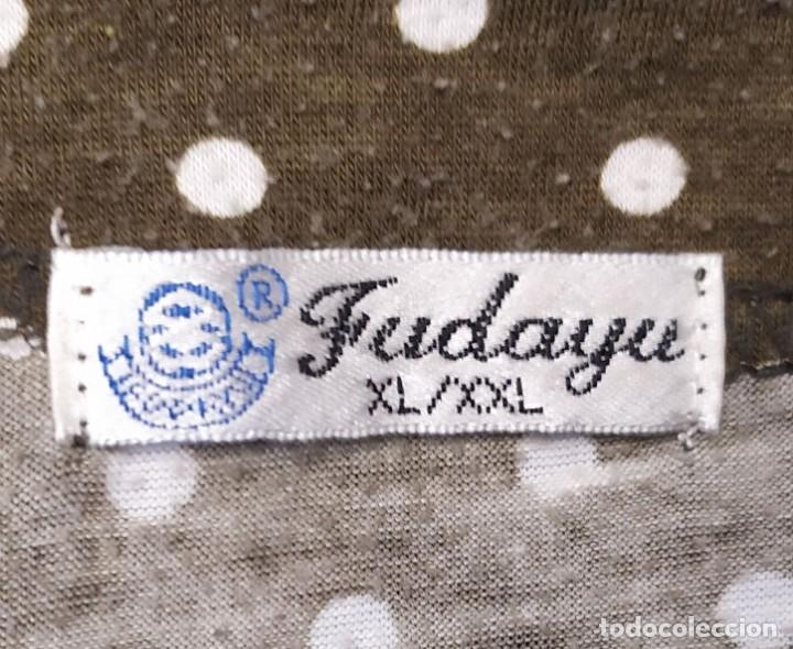 Vintage: Camiseta manga larga lunares marron funday Talla XL-XXL - Foto 2 - 254108950