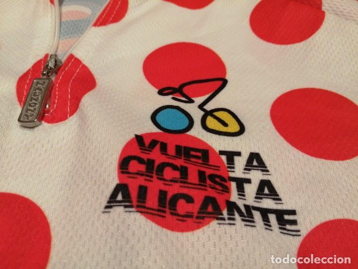 Vintage: MAILLOT DEL DEL VENCEDOR PREMIO MONTAÑA VUELTA CICLISTA ALICANTE (Exclusiva Mundial TC) - Foto 3 - 254109440