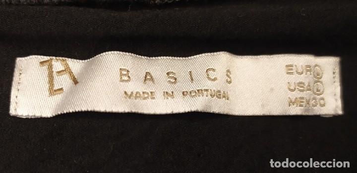 Vintage: Camiseta manga larga negra Basic Made In Portugal Talla L - Foto 3 - 254112025