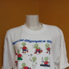 Vintage: CAMISA PARA HOMBRE. SPECIAL-OLYMPICS-92. TALLA XL.. Lote 254160145
