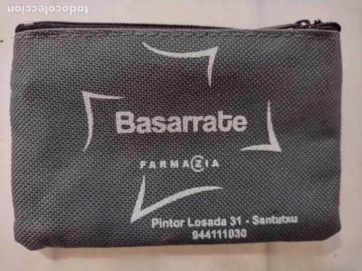 Vintage: CARTERA MONEDERO FARMAZIA BASARRATE SANTUTXU - NUEVO - Foto 2 - 254762740