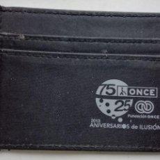 Vintage: CARTERA TARJETAS TRANSPORTE - ONCE 2013- ANIVERSARIOS DE ILUSIÓN . O.N.C.E.. Lote 254821760