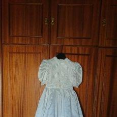 Vintage: VESTIDO DE COMUNION, TALLA 115 PARA 10 AÑOS. Lote 255576140