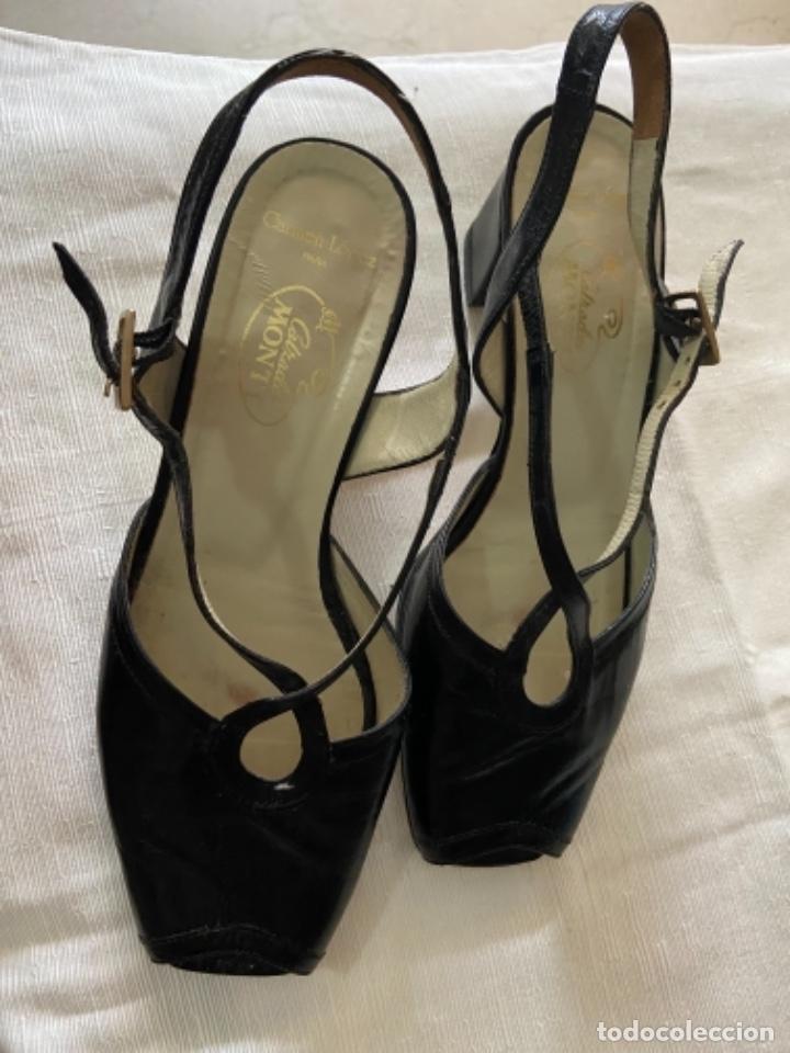Vintage: Zapatos piel talla 35 e o 36 c - Foto 2 - 258160715