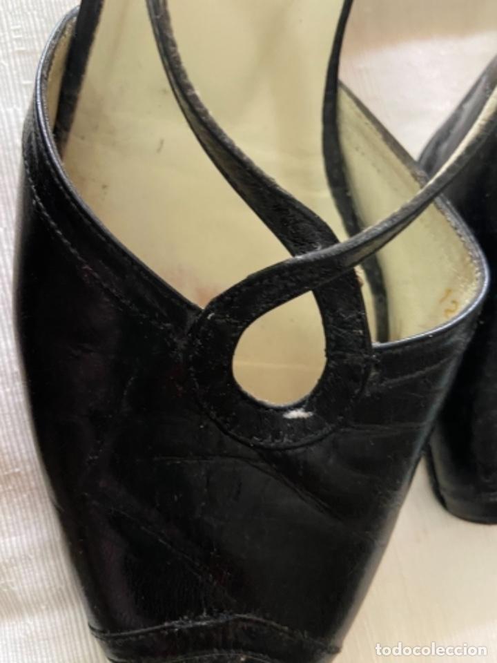 Vintage: Zapatos piel talla 35 e o 36 c - Foto 3 - 258160715