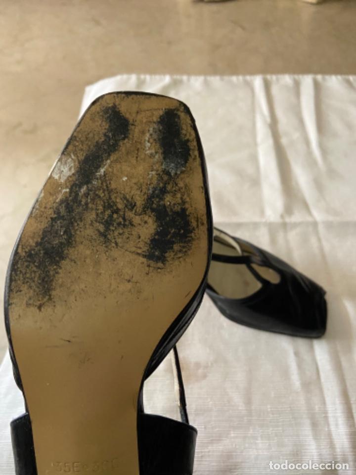 Vintage: Zapatos piel talla 35 e o 36 c - Foto 6 - 258160715