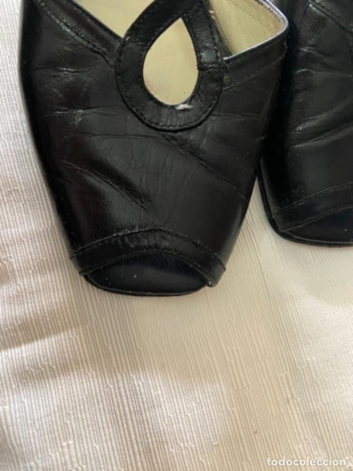 Vintage: Zapatos piel talla 35 e o 36 c - Foto 8 - 258160715