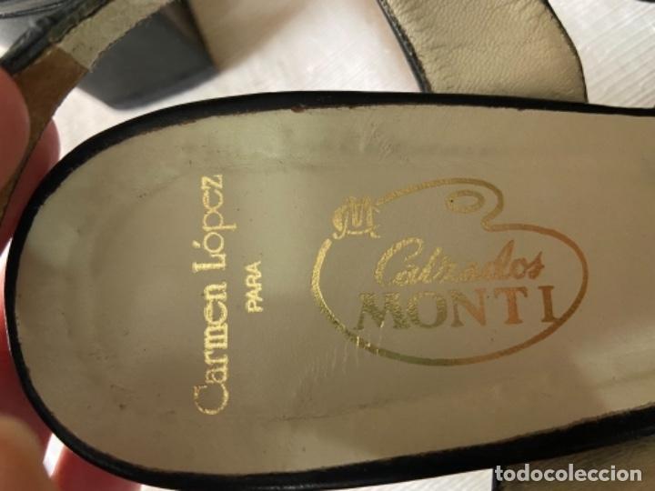 Vintage: Zapatos piel talla 35 e o 36 c - Foto 9 - 258160715