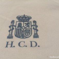 """Vintage: BATA MÉDICO HOSPITAL CENTRAL DE LA DEFENSA """"GÓMEZ ULLA"""" MADRID (EXCLUSIVA MUNDIAL TC). Lote 260465135"""
