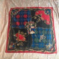 Vintage: PAÑUELO GRANDE CUELLO DE SEÑORA BELLO DEL ESTILO HERMES PARIS PERO DESCONOZCO MARCA. Lote 260706180