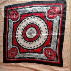 Vintage: PAÑUELO GRANDE CUELLO DE SEÑORA BELLO DEL ESTILO HERMES PARIS PERO DESCONOZCO LA MARCA. Lote 260728200