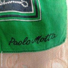 Vintage: ANTIGUO PAÑUELO PAOLO MOTTA 100 X 100 ALGODON ROWELS, FABRICADO EN ESPAÑA VINTAGE RETRO ORIGINAL. Lote 260730515