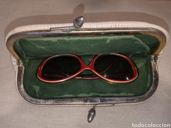 Vintage: LOTE GAFAS SOL RABANNE RENATA Y CARTERA MONEDERO - Foto 9 - 261790955