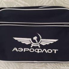 Vintage: BOLSO BOSSA MISSATGER RETRO AEROFLOT LINIA AEREA SOVIETICA RUSIA COMUNISMO. Lote 261922375
