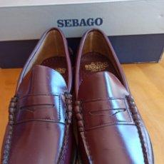 Vintage: ZAPATOS SEBAGO COMPLETAMENTE NUEVOS.. Lote 261947830