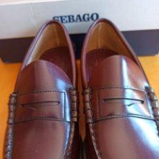 Vintage: MOCASINES SEBAGO SIN ESTRENAR. Lote 261949930