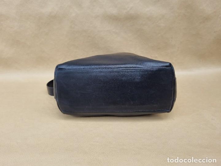 Vintage: Bolso de hombro Balenciaga en cuero negro - Foto 4 - 262051610