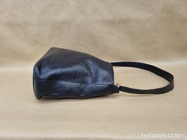 Vintage: Bolso de hombro Balenciaga en cuero negro - Foto 5 - 262051610