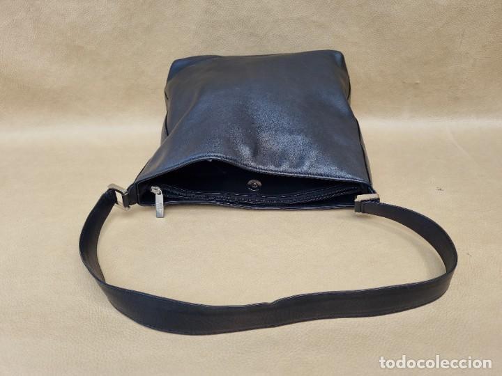 Vintage: Bolso de hombro Balenciaga en cuero negro - Foto 6 - 262051610