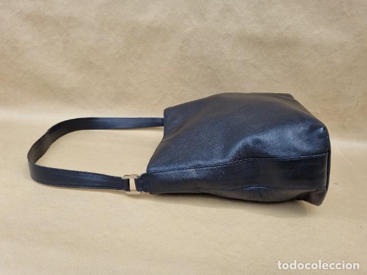 Vintage: Bolso de hombro Balenciaga en cuero negro - Foto 8 - 262051610