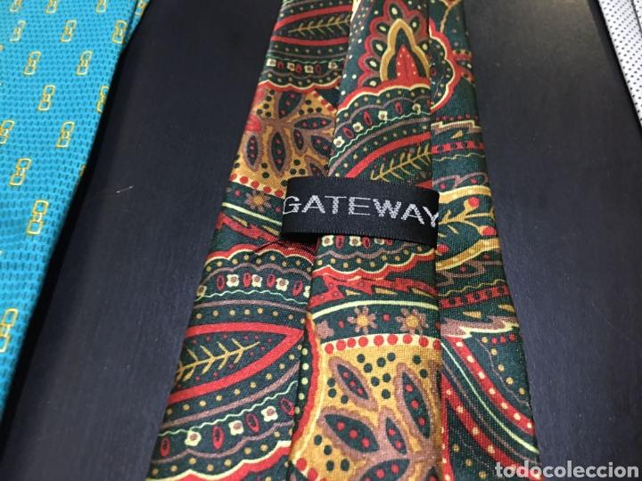 Vintage: Lote de 5 corbatas en perfecto estado. Buenas marcas, El Corte Inglés. - Foto 5 - 263054585