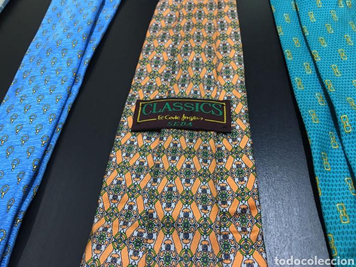 Vintage: Lote de 5 corbatas en perfecto estado. Buenas marcas, El Corte Inglés. - Foto 6 - 263054585