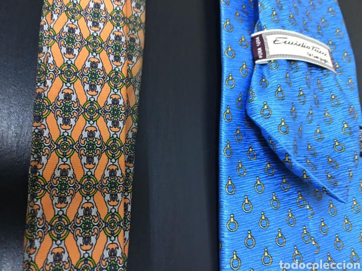 Vintage: Lote de 5 corbatas en perfecto estado. Buenas marcas, El Corte Inglés. - Foto 7 - 263054585