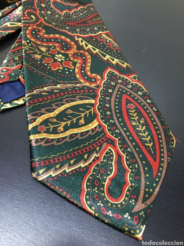 Vintage: Lote de 5 corbatas en perfecto estado. Buenas marcas, El Corte Inglés. - Foto 11 - 263054585