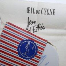 Vintage: CEIL DE CYGNE MIRADA CISNE JEAN D'ESTRESS AÑOS 60 MAQUILLAJE. Lote 263131605