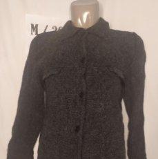 Vintage: CHAQUETON DENLLO NEGRO TALLA M. Lote 263183630