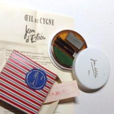 Vintage: CEIL DE CYGNE MIRADA CISNE JEAN D'ESTRESS AÑOS 60 MAQUILLAJE (VERT). Lote 263600940