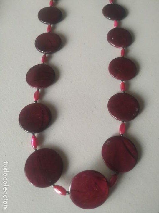 Vintage: Lote 3 collares de diferentes modelos. Largos. Abalorios. Bisutería. - Foto 3 - 266160258