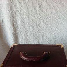 Vintage: ANTIGUO NECESER CON LA MARCA DE CARTIER. Lote 266325433
