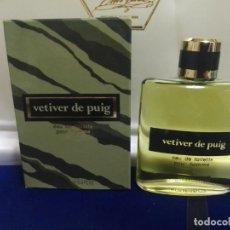 Vintage: --- EAU DE TOILETTE 100ML --- VETIVER DE PUIG POUR HOMME.. Lote 266815799