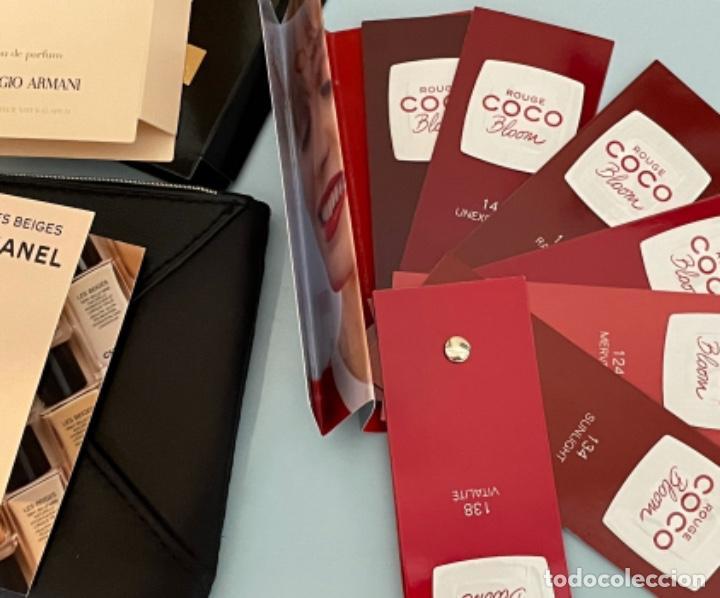 Vintage: Neceser de bolso de Giorgio Armani. Nuevo con muestras de perfume y colorido. - Foto 3 - 266912384