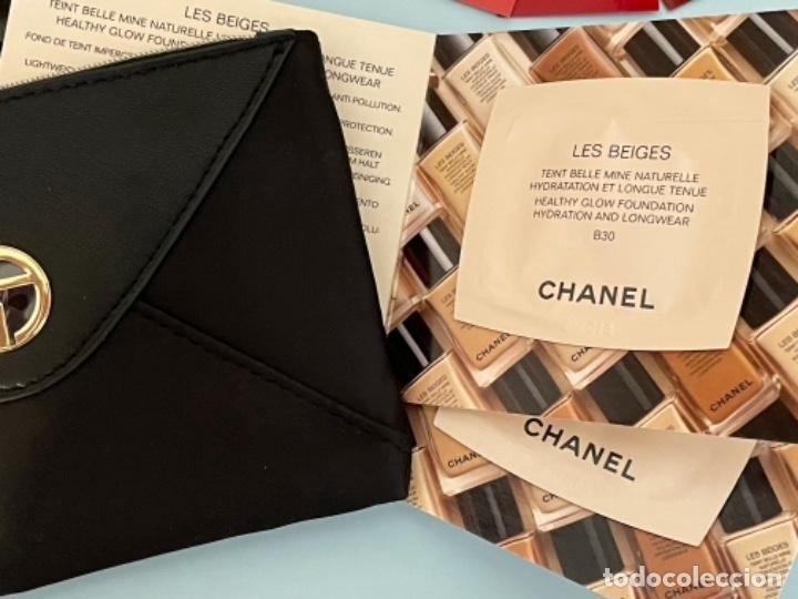 Vintage: Neceser de bolso de Giorgio Armani. Nuevo con muestras de perfume y colorido. - Foto 4 - 266912384