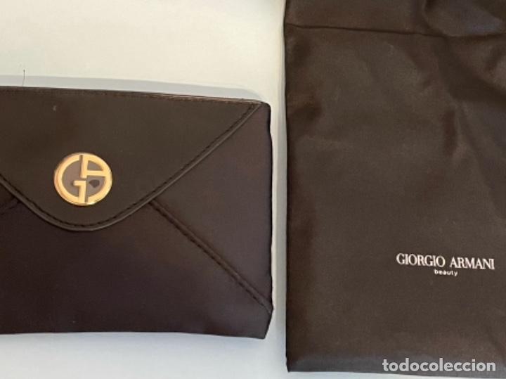 Vintage: Neceser de bolso de Giorgio Armani. Nuevo con muestras de perfume y colorido. - Foto 10 - 266912384
