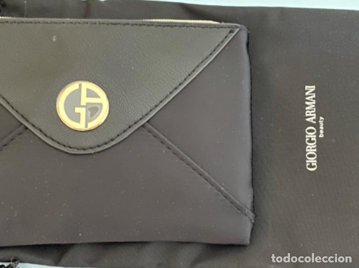 Vintage: Neceser de bolso de Giorgio Armani. Nuevo con muestras de perfume y colorido. - Foto 11 - 266912384