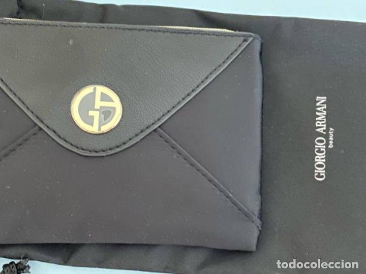 Vintage: Neceser de bolso de Giorgio Armani. Nuevo con muestras de perfume y colorido. - Foto 12 - 266912384