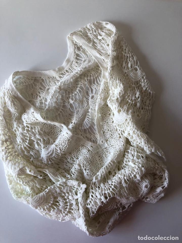 Vintage: Blusa Crochet Máquina - Foto 3 - 269479548
