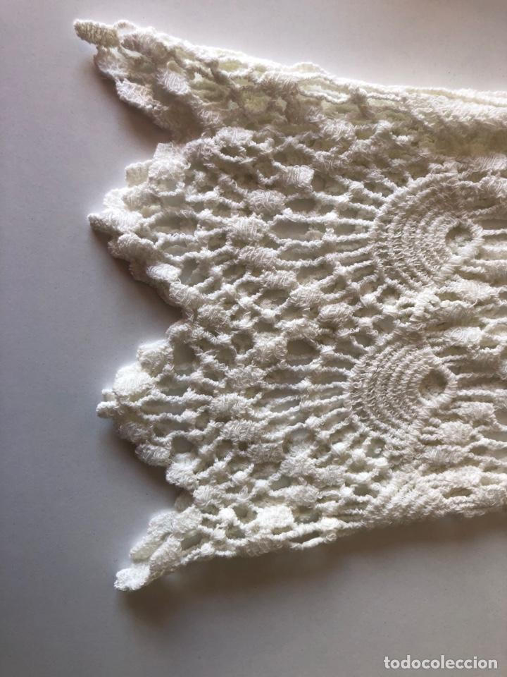 Vintage: Blusa Crochet Máquina - Foto 5 - 269479548