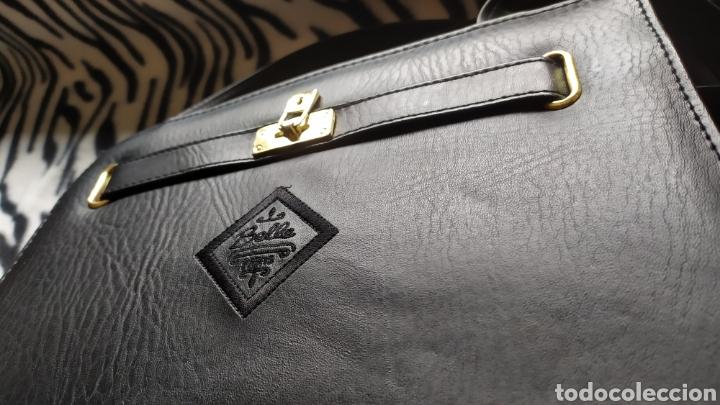 Vintage: Elegante Bolso Vintage BELLE PARIS; Prácticamente NUEVO. PERFECTAMENTE CONSERVADO. Años 70. - Foto 4 - 270689683