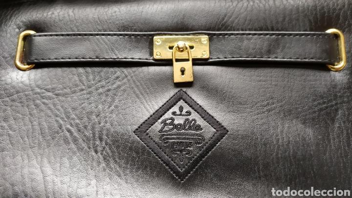 Vintage: Elegante Bolso Vintage BELLE PARIS; Prácticamente NUEVO. PERFECTAMENTE CONSERVADO. Años 70. - Foto 8 - 270689683
